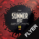 Summer Fest V6 Flyer - GraphicRiver Item for Sale