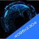 Minimal Blue Earth Hologram - VideoHive Item for Sale