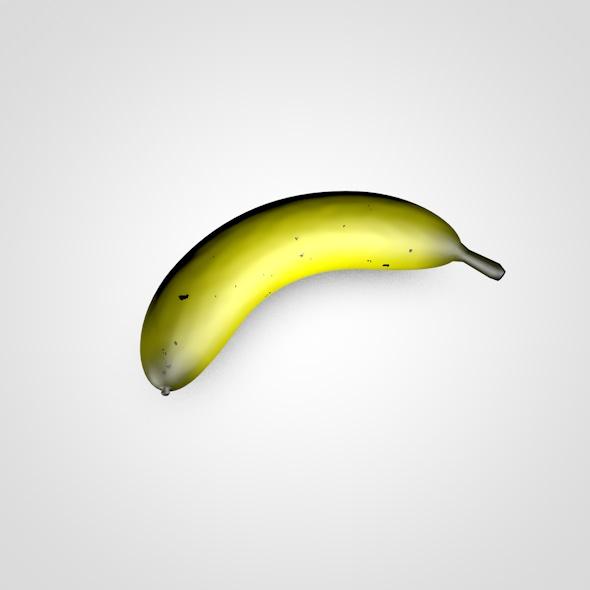 Banana - 3DOcean Item for Sale