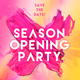 Season Opening Party Flyer - GraphicRiver Item for Sale
