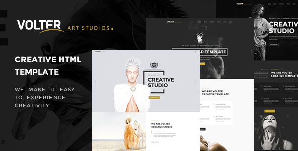 Creative Multipurpose - Volter Creative - Creative Site Templates
