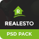 Realesto - Real Estate PSD Pack - ThemeForest Item for Sale