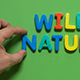 The Word Wild Nature - VideoHive Item for Sale