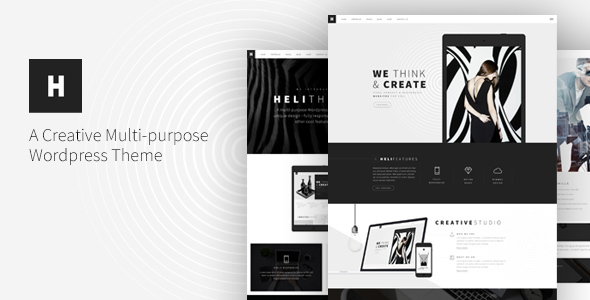 Heli - Creative Multi-Purpose WordPress Theme