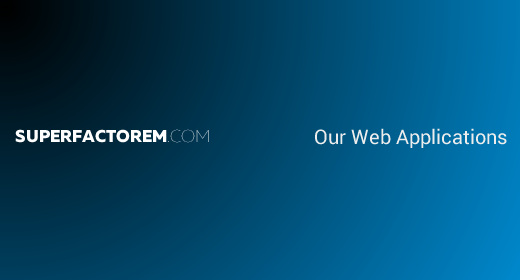 Our Web Applications