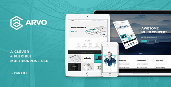 Arvo – A Clever & Flexible Multipurpose PSD