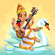 Sarasvati Hindu Goddess - GraphicRiver Item for Sale