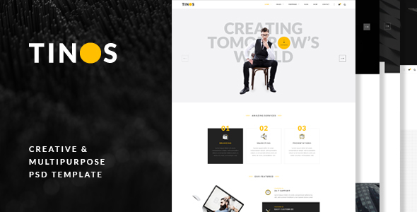 Tinos – Multi-Purpose PSD Template