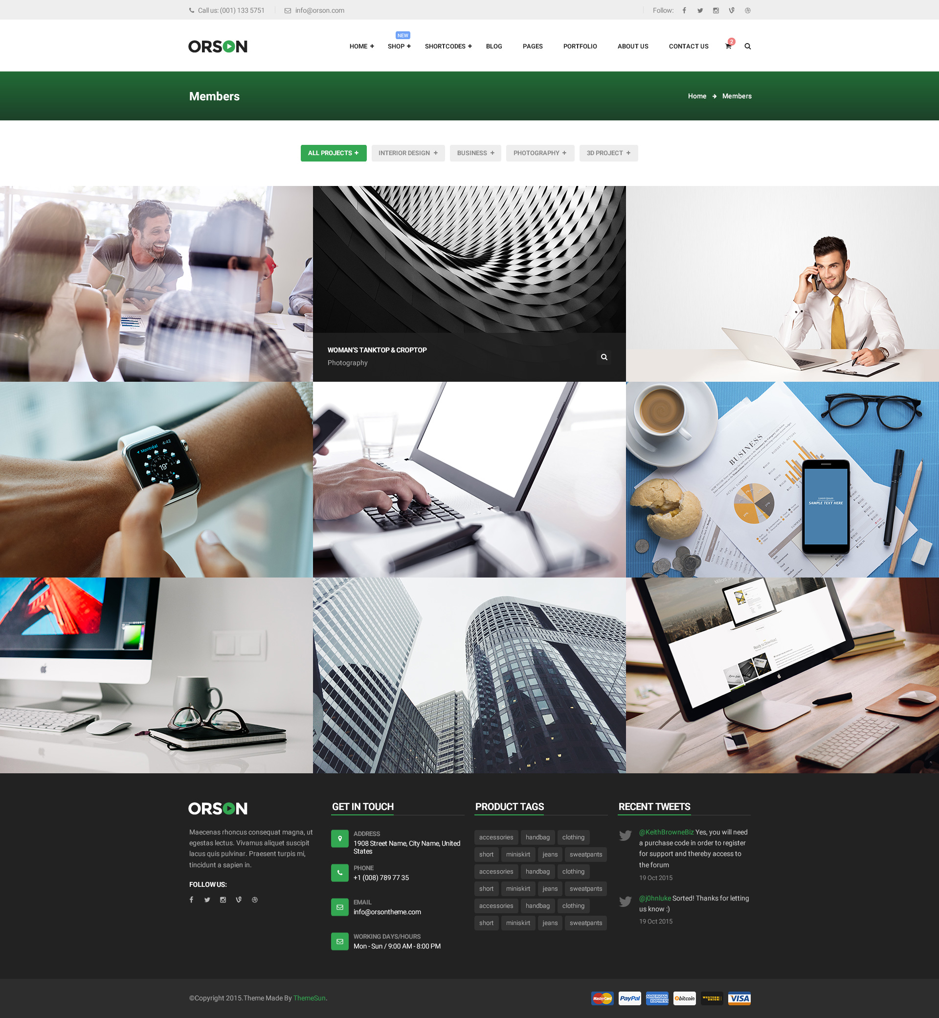 Orson - An eCommerce PSD Template by ThemeSun | ThemeForest