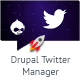 Twitter Manager Drupal Plugin - CodeCanyon Item for Sale