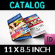Supermarket Products Tri-Fold Catalog Brochure Template - GraphicRiver Item for Sale