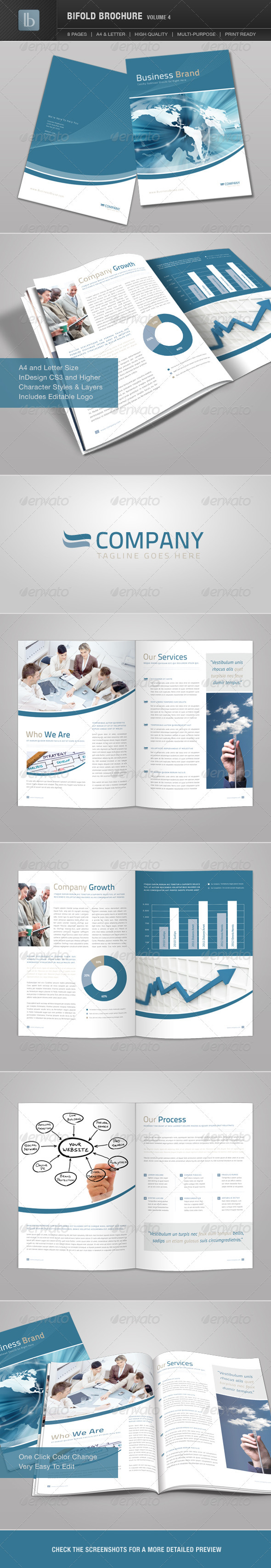 Bifold Brochure | Volume 4 - Corporate Brochures