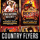 Country and Rodeo Flyer Template Bundle - GraphicRiver Item for Sale
