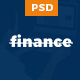 Finance – Business, Finance PSD Template  Nulled