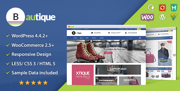 VG Bautique – Responsive WooCommerce WordPress Theme
