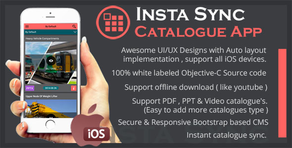 Insta Sync Catalogue Utility App using CouchDB - CodeCanyon Item for Sale