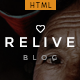 Relive - Traveling Blog HTML - ThemeForest Item for Sale