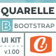 Quarelle - Watercolor Paint Bootstrap UI Kit - CodeCanyon Item for Sale