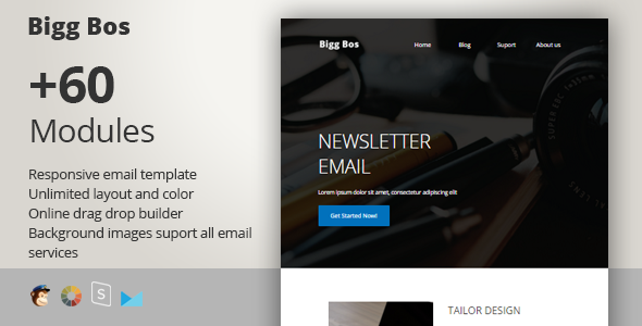 Big Boss - Responsive Email + StampReady Builder by PrimaDesign