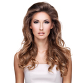 Beautiful woman with long wavy brown hair - PhotoDune Item for Sale