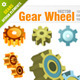 Machine Gear Wheel Symbols - GraphicRiver Item for Sale
