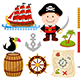 Pirate Boy Set - GraphicRiver Item for Sale