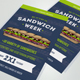 Sandwich Week Flyer - GraphicRiver Item for Sale