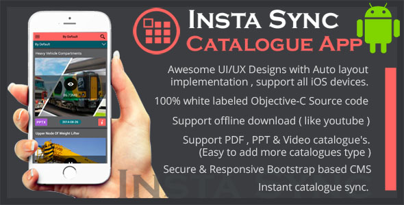 Insta Sync Catalogue Utility Android App using CouchDB . - CodeCanyon Item for Sale