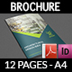 Abstract Architectural Design Brochure Template - 12 Pages - GraphicRiver Item for Sale