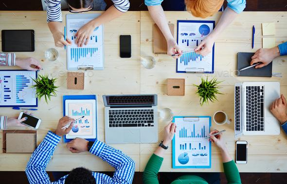 Analyzing data - Stock Photo - Images