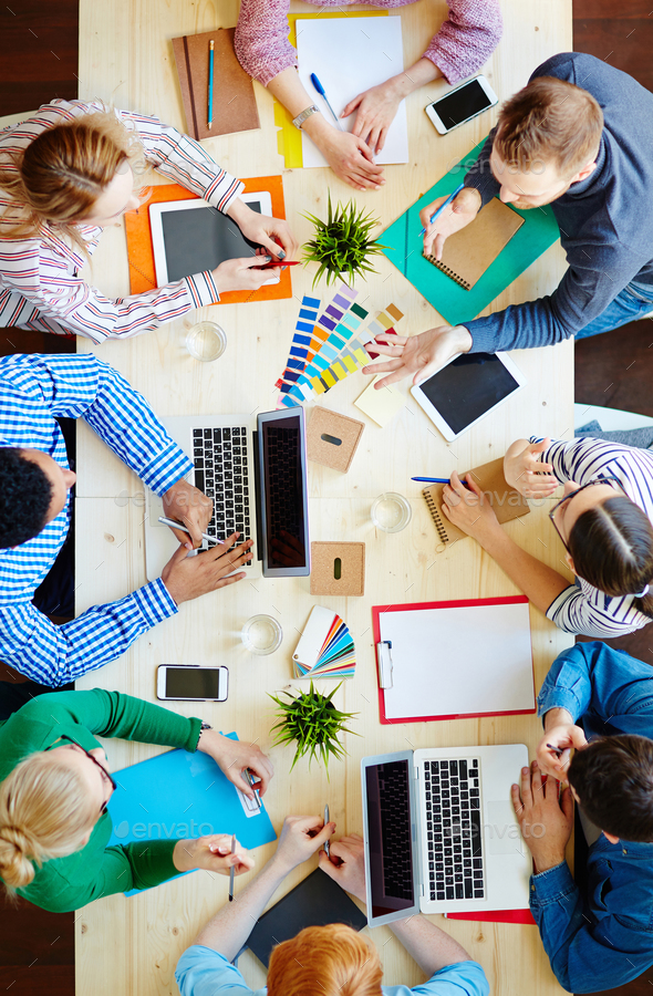 Designers at work - Stock Photo - Images