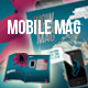 Mobile Phone Art Magazine Template - GraphicRiver Item for Sale