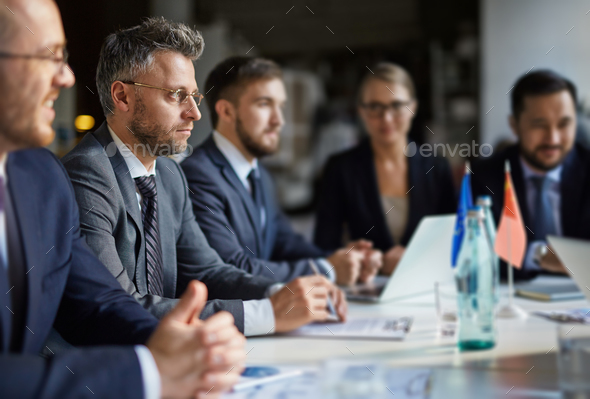 Business conference - Stock Photo - Images