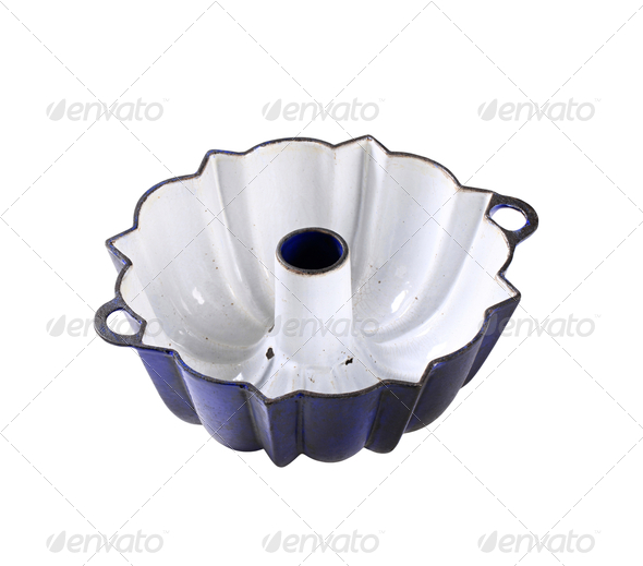 Bundt pan - Stock Photo - Images