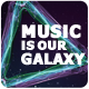 Music Is Galaxy - Flyer - GraphicRiver Item for Sale
