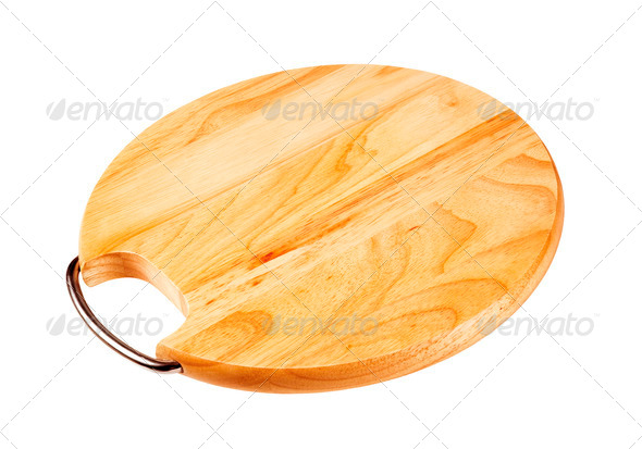 Kitchen cutting board - Stock Photo - Images
