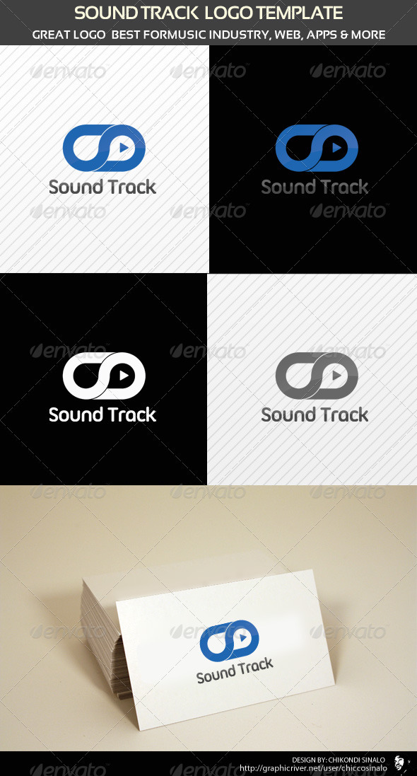 Sound Track Logo Template