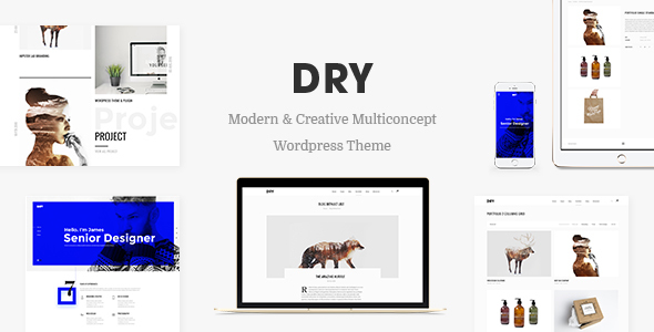 DRY – Modern & Creative Multiconcept Theme