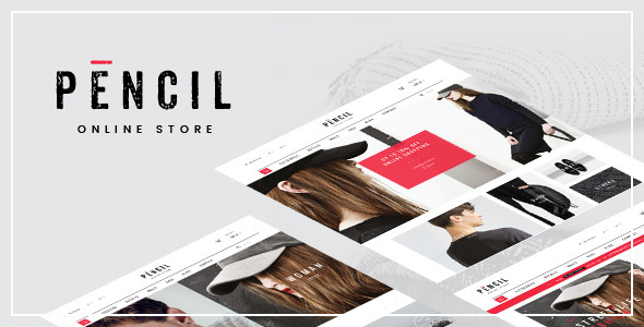 Pencil – Responsive Fashion Prestashop Theme