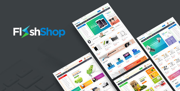 FlashShop - Responsive Prestashop Theme for Digital Store