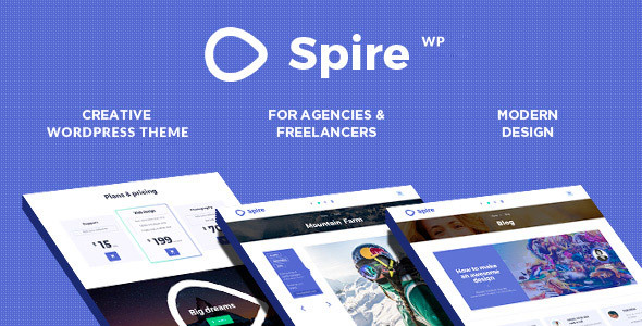 Spire - Creative Agency WP Responsive Theme