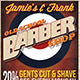 Barber Shop Flyer Template - GraphicRiver Item for Sale