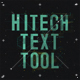 Hitech Text Tool - VideoHive Item for Sale