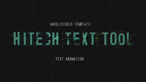 Hitech Text Tool by Madlistudio | VideoHive