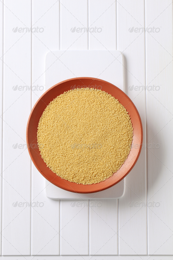 Dried couscous - Stock Photo - Images