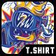 KING T-Shirt Design -Graphicriver中文最全的素材分享平台