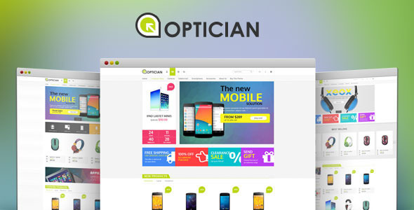 Optician – Digital Bootstrap Template