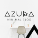 Azura | Clean & Minimal Blog PSD - ThemeForest Item for Sale