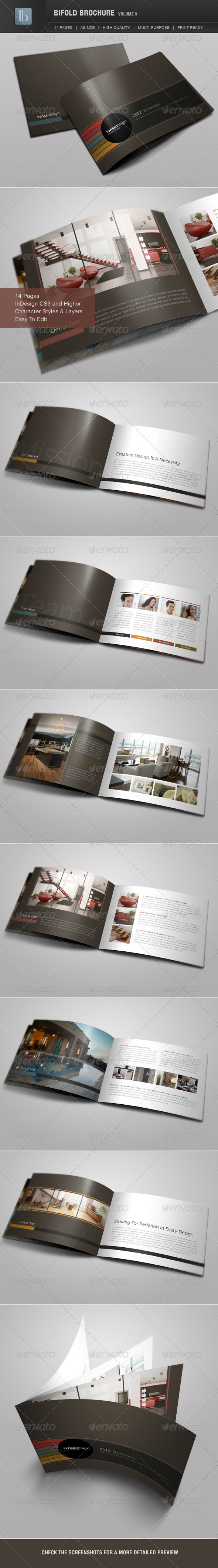 Bifold Brochure | Volume 5 - Corporate Brochures