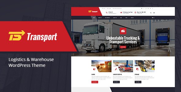 Transport – Transport, Logistic & Warehouse HTML Template